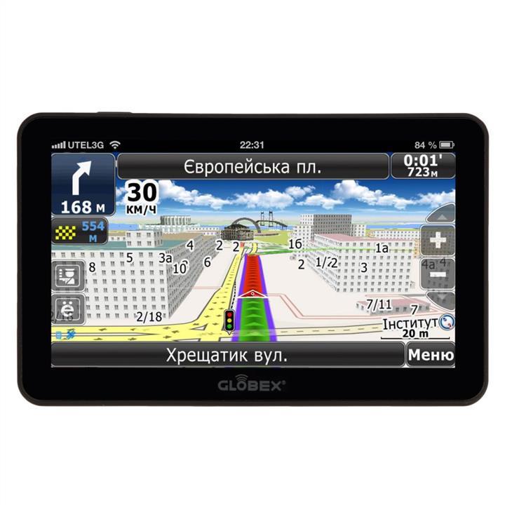 Автомобильный GPS навигатор Globex GE711 Навлюкс