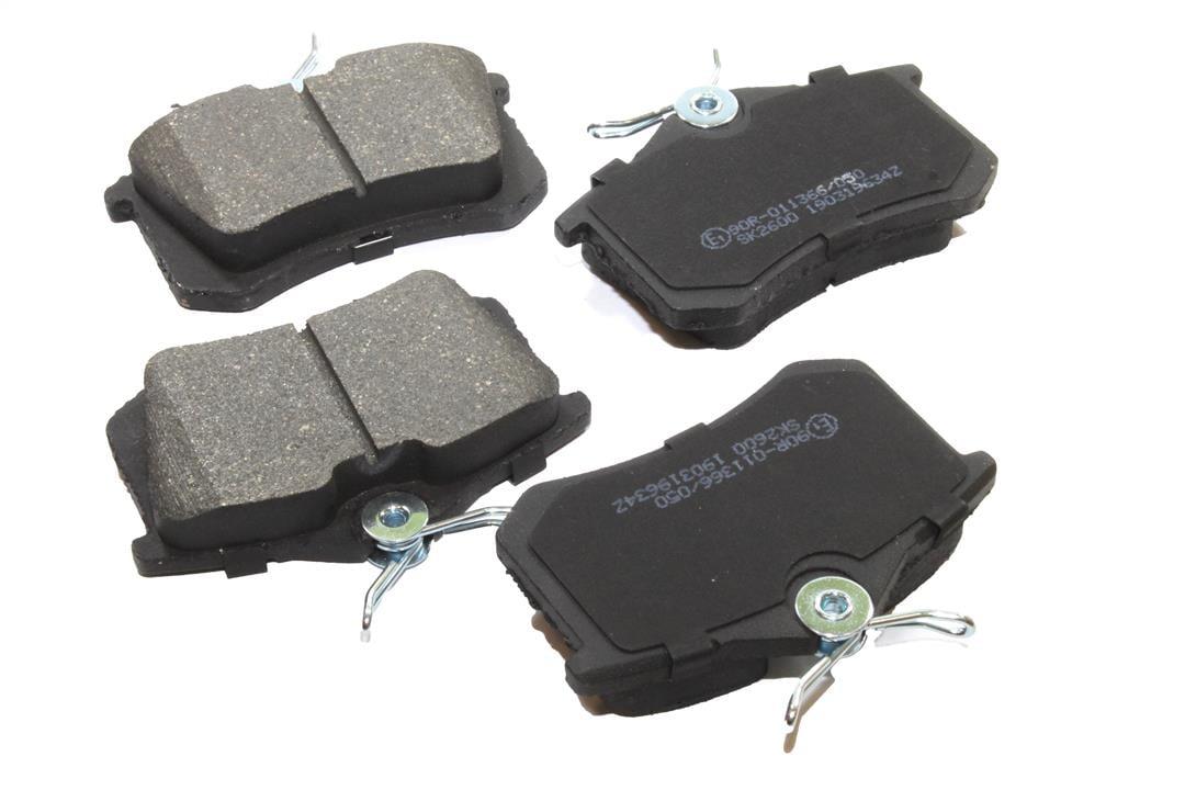 Колодки тормозные дисковые, комплект