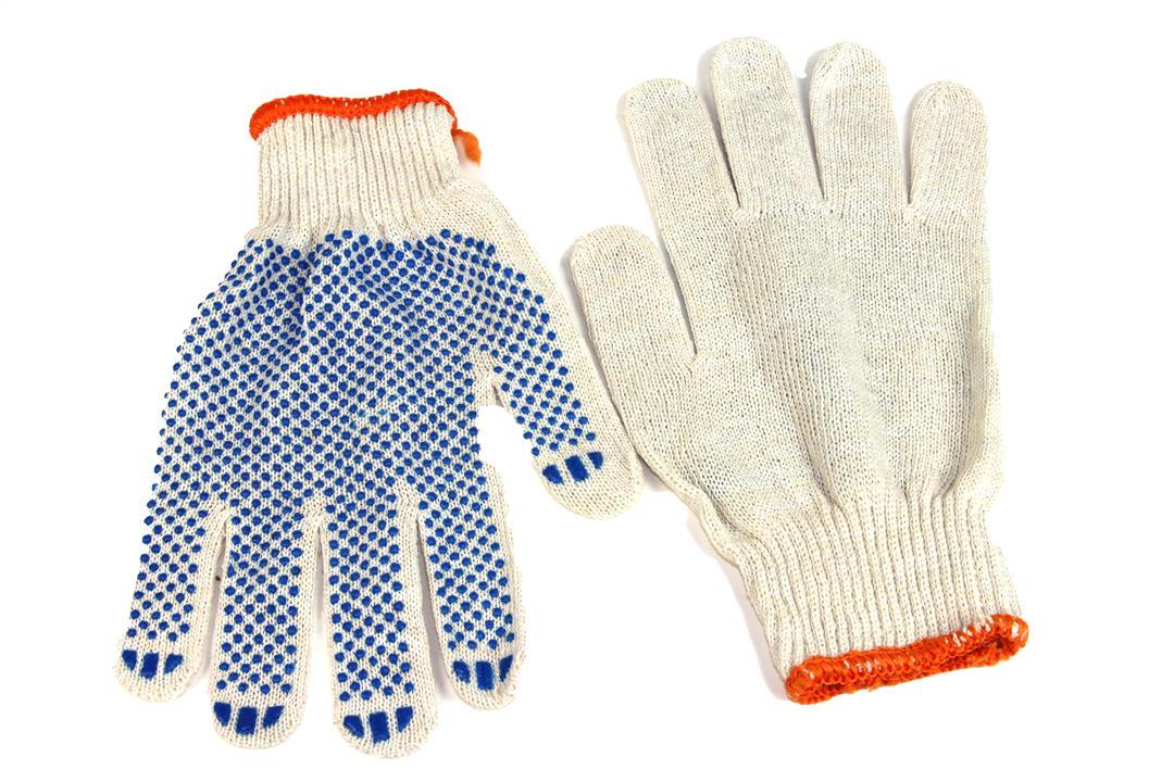 Перчатки рабочие ткань ПВХ