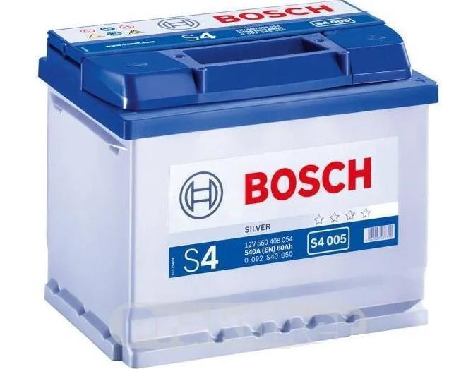 Батарея аккумуляторная Bosch S4 005 12В 60Ач 540A(EN) R+