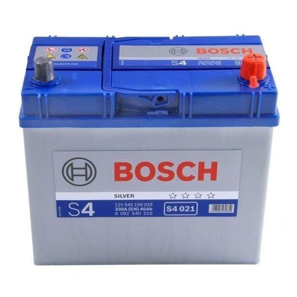 Батарея аккумуляторная Bosch S4 021 12В 45Ач 330A(EN) R+