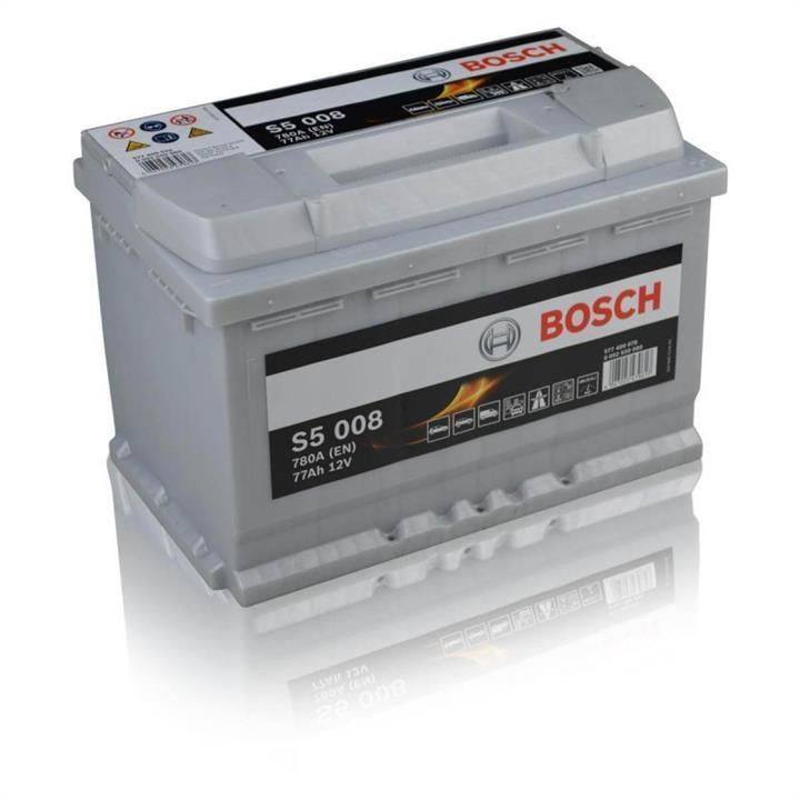 Батарея аккумуляторная Bosch S5 008 12В 77Ач 780A(EN) R+