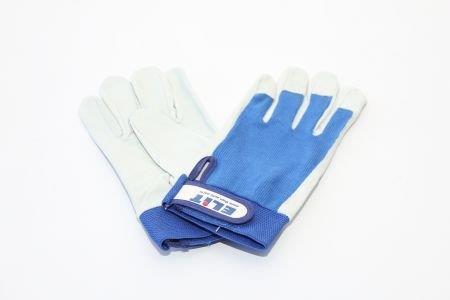 Рабочие перчатки ELIT, кожа+текстиль, размер 8