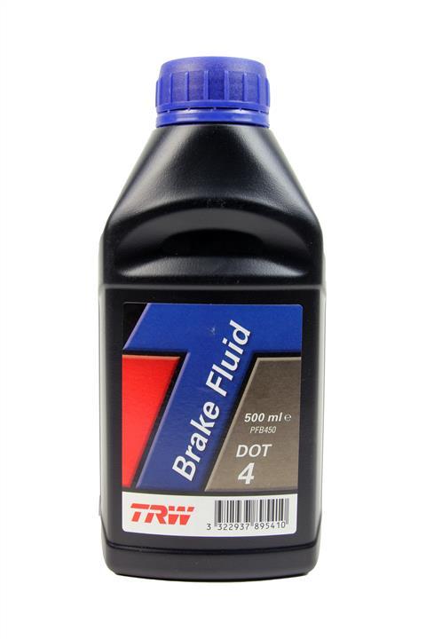 Жидкость тормозная DOT 4 BRAKE FLUID, 0,5 л