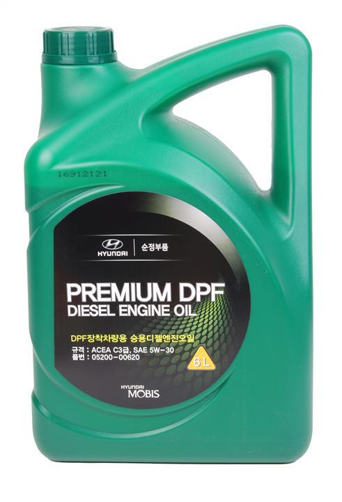 Масло моторное Hyundai/Kia Premium DPF Diesel 5W-30, 6 л