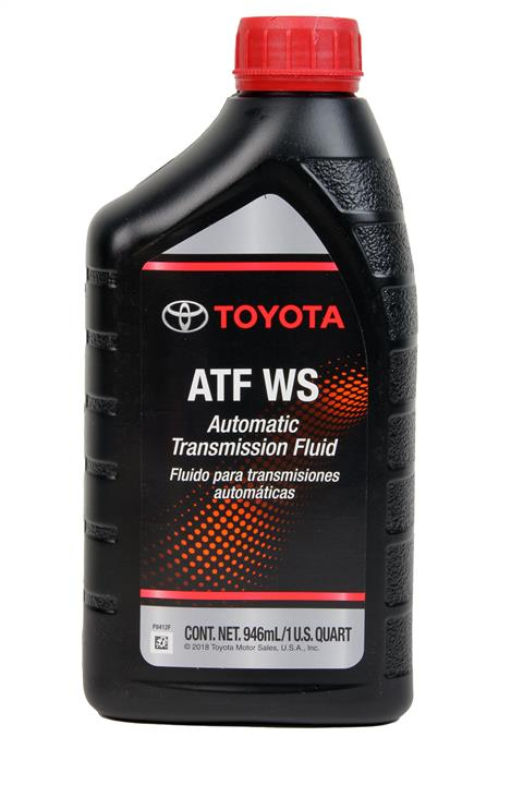 Масло трансмиссионное Toyota ATF WS, 1 л