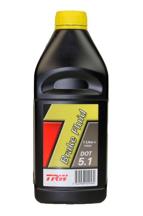 Жидкость тормозная DOT 5.1 BRAKE FLUID, 1 л