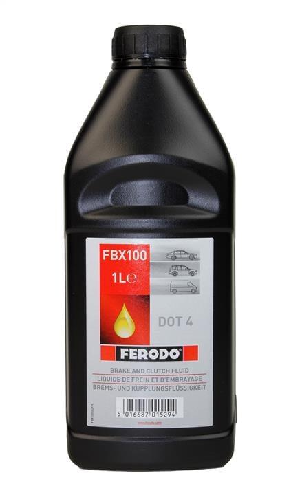 Жидкость тормозная DOT 4 BRAKE FLUID, 1 л