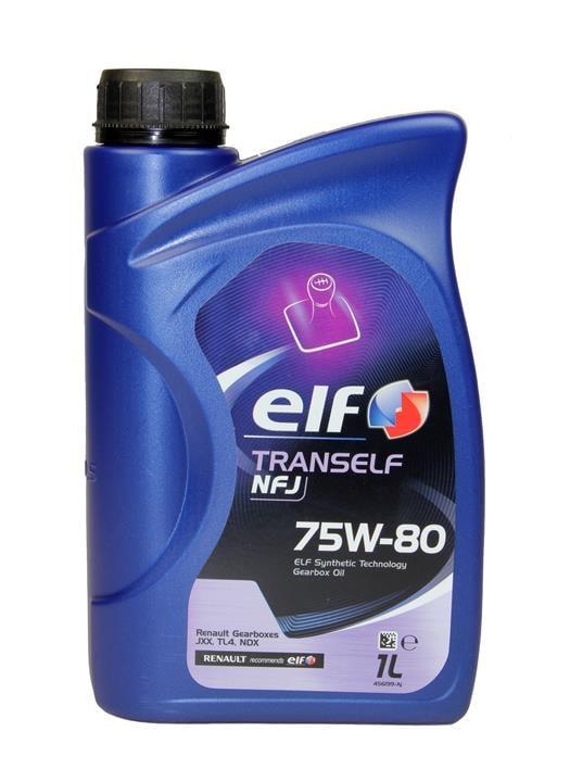 Масло трансмиссионное Elf TRANSELF NFJ 75W-80, 1 л (194864)