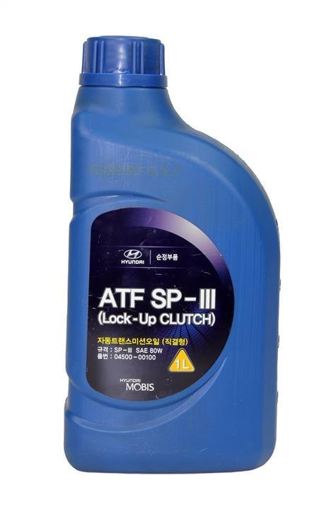 Масло трансмиссионное Hyundai/Kia ATF SP-III, 1 л