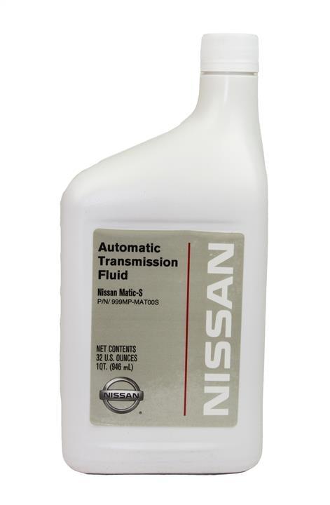 Масло трансмиссионное Nissan ATF Matic S, 1 л