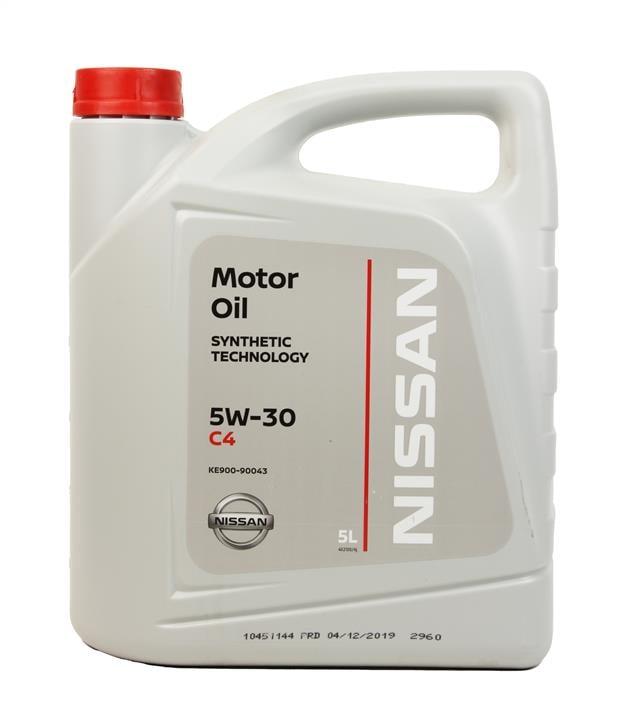 Масло моторное Nissan MOTOR OIL FS 5W-30 C4, 5 л