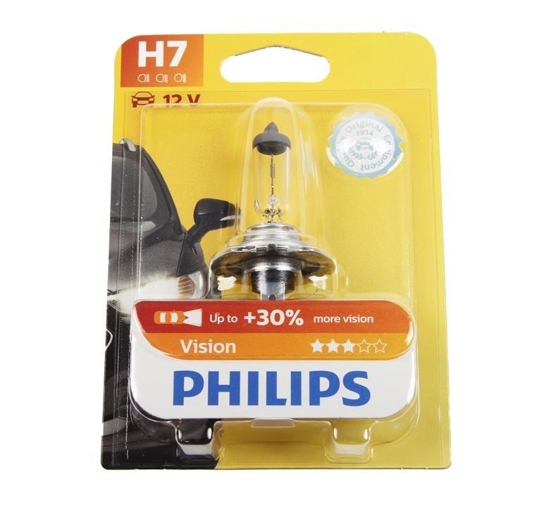 Лампа галогенная Philips Vision +30% H7 12V 55W