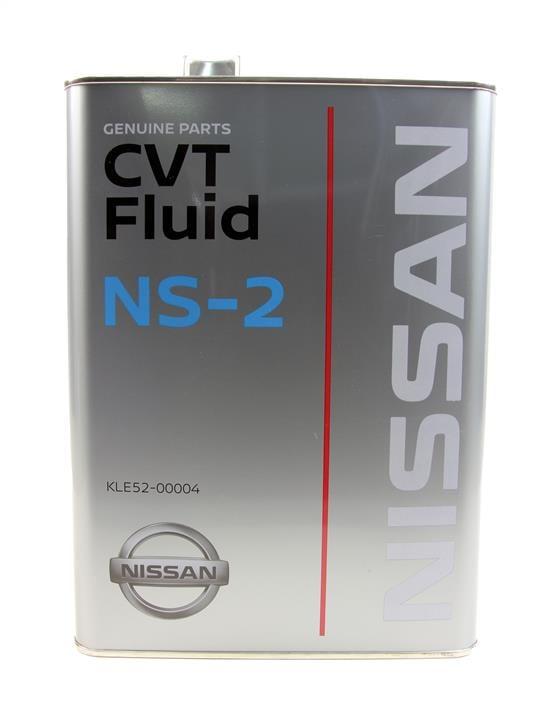 Масло трансмиссионное Nissan CVT NS-2, 4 л