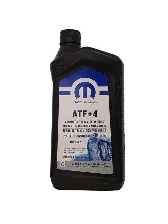 Масло трансмиссионное Chrysler/Mopar ATF+4 MS-9602-F, 0,946 л