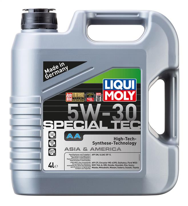 Масло моторное Liqui Moly Leichtlauf Special AA 5W-30, 4 л