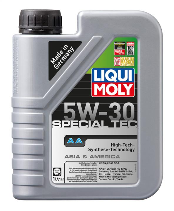 Масло моторное Liqui Moly Leichtlauf Special AA 5W-30, 1 л