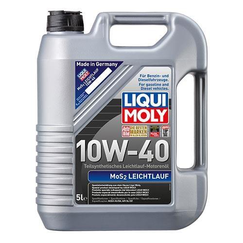 Масло моторное Liqui Moly Mos2 Leichtlauf 10W-40, 5 л