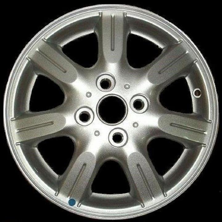 Диск колёсный легкосплавный Сhevrolet Spark 2, Ravon R2 4.5x14 4x100 ET43.5 DIA 56.6 General Motors 95484913
