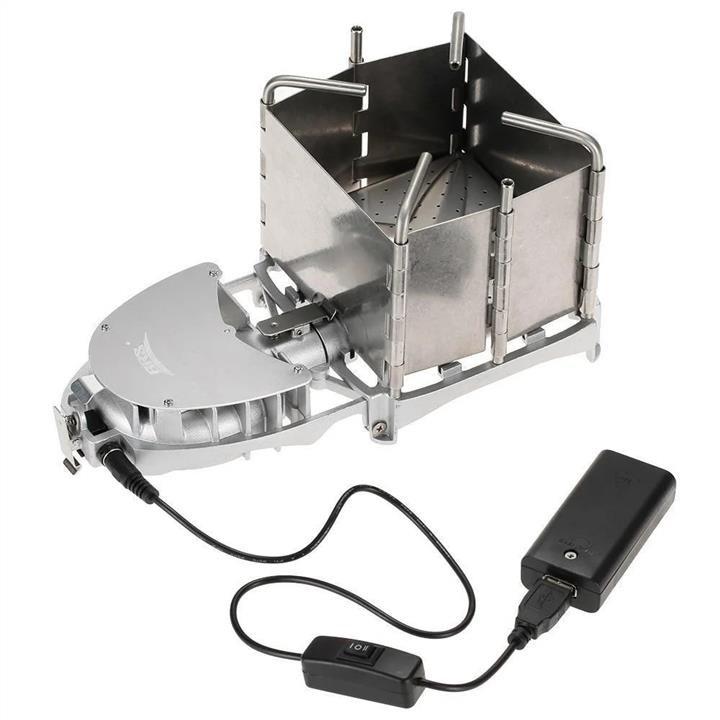 Твердотопливная печь с турбиной и питанием BRS-116