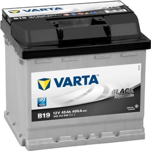 Батарея аккумуляторная Varta Black Dynamic 12В 45Ач 400A(EN) R+