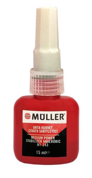 Фиксатор резьбы для разъемных соединений Muller Moderate Screw Stabilizer, 15 мл