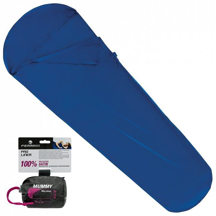Вкладыш для спального мешка Ferrino Liner Pro Mummy Blue