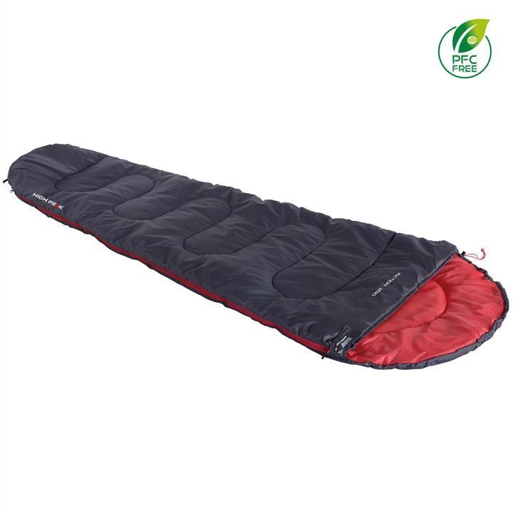 Спальный мешок High Peak Action 250/+4°C Anthra/Red (Left)
