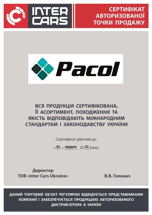 Pacol VOL-MR-015