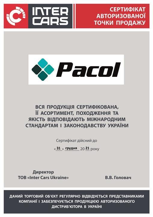 Pacol MAN-MR-012