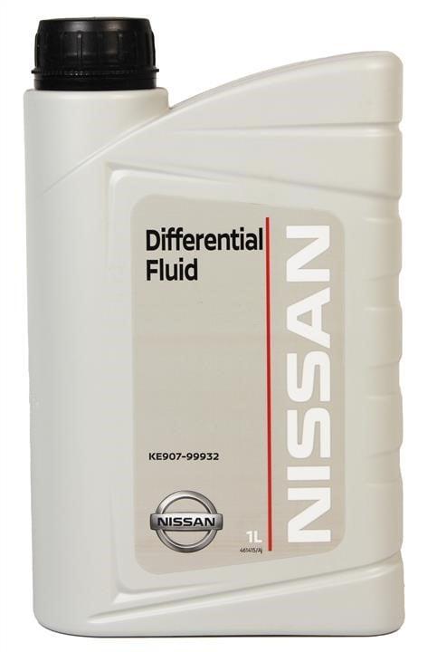 Масло трансмиссионное Nissan Differential Oil  GL-5 80W-90, 1 л