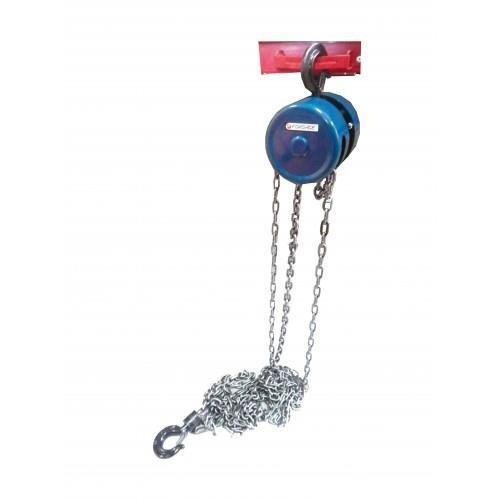 Лебедка механическая подвесная с фиксацией цепи натяжения, 1.5т (длина цепи - 2.5м) Forsage F-TR9015 - фото 3