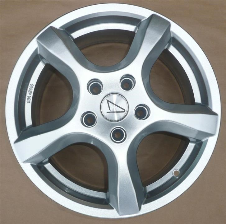 Диск колёсный легкосплавный Renault Stella 6.5x16 5x114.3 DIA 66.1 Silver Renault 77 11 430 395 - фото 3