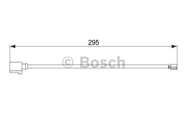 Датчик износа тормозных колодок Bosch 1 987 474 565