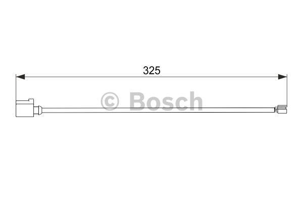 Датчик износа тормозных колодок Bosch 1 987 474 567