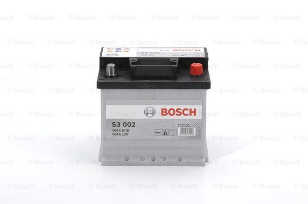 Батарея аккумуляторная Bosch S3 002 12В 45Ач 400A(EN) R+ Bosch 0 092 S30 020 - фото 9