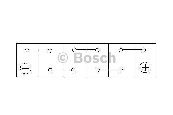 Батарея аккумуляторная Bosch S3 002 12В 45Ач 400A(EN) R+ Bosch 0 092 S30 020 - фото 7