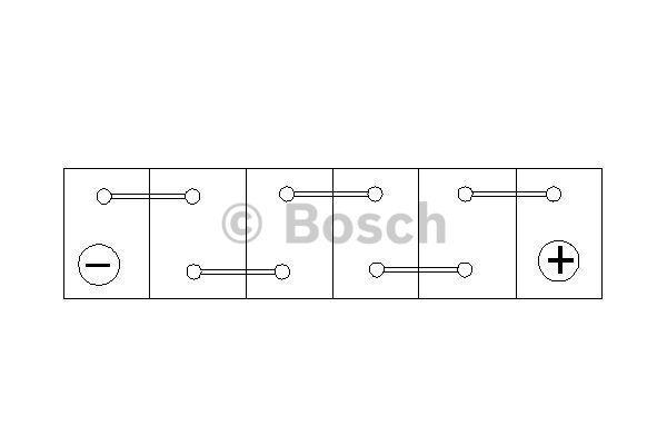 Батарея аккумуляторная Bosch S4 002 12В 52Ач 470A(EN) R+ Bosch 0 092 S40 020 - фото 9