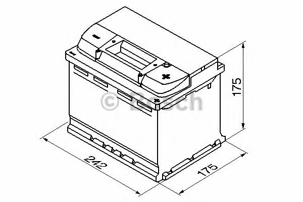 Батарея аккумуляторная Bosch S4 004 12В 60Ач 540A(EN) R+ Bosch 0 092 S40 040 - фото 3