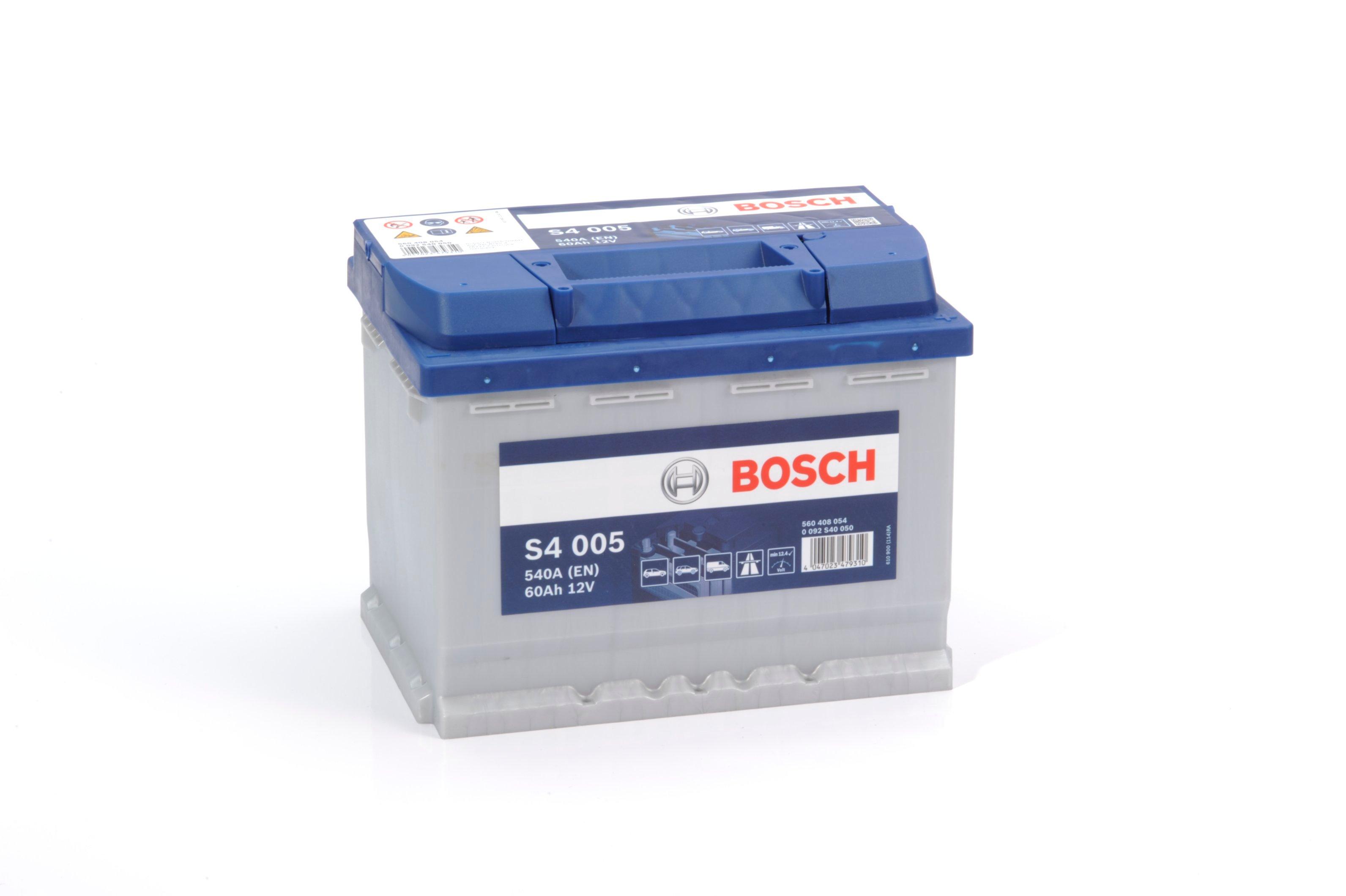 Батарея аккумуляторная Bosch S4 005 12В 60Ач 540A(EN) R+ Bosch 0 092 S40 050 - фото 11