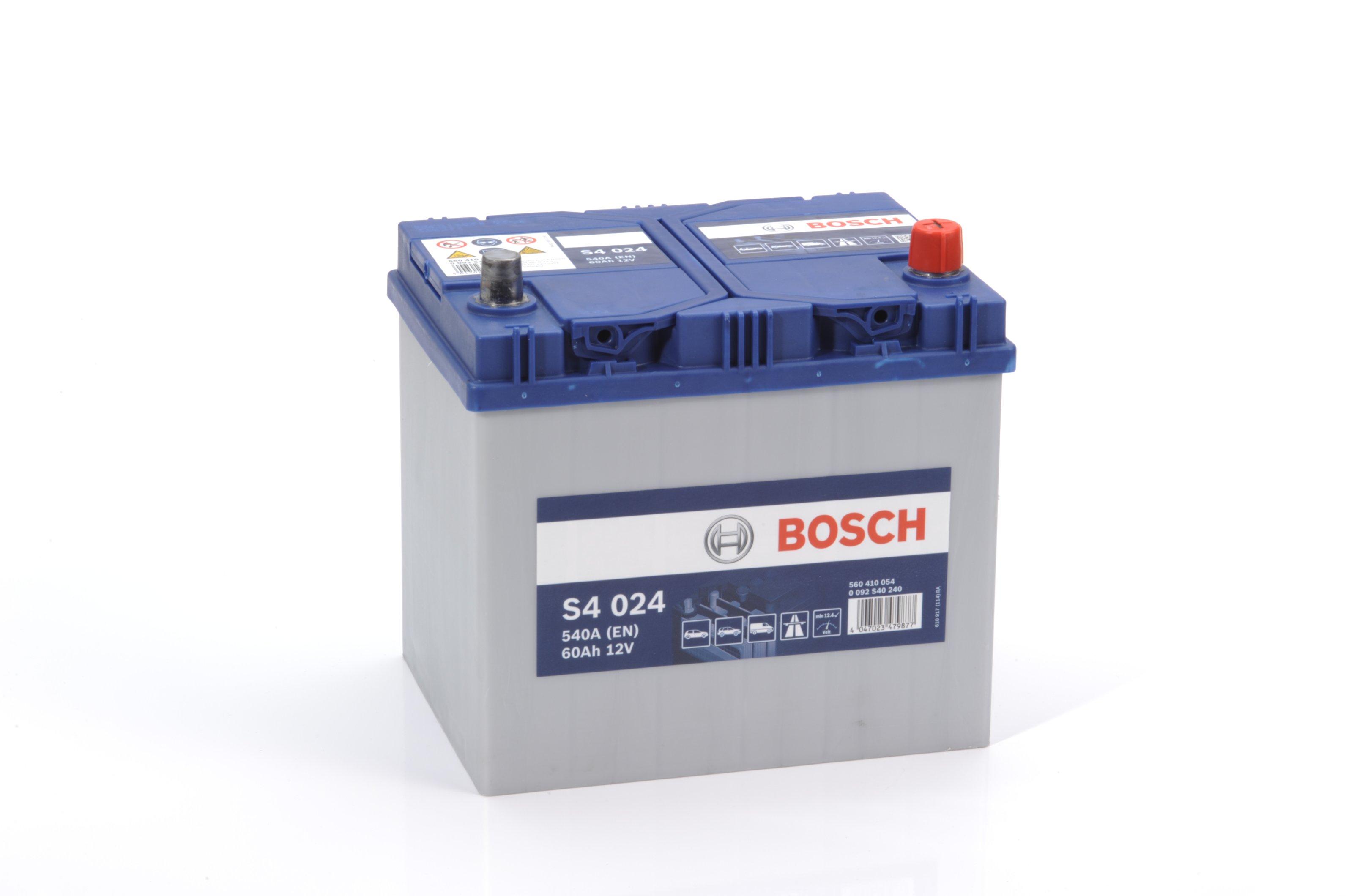 Батарея аккумуляторная Bosch S4 024 12В 60Ач 540A(EN) R+ Bosch 0 092 S40 240 - фото 7