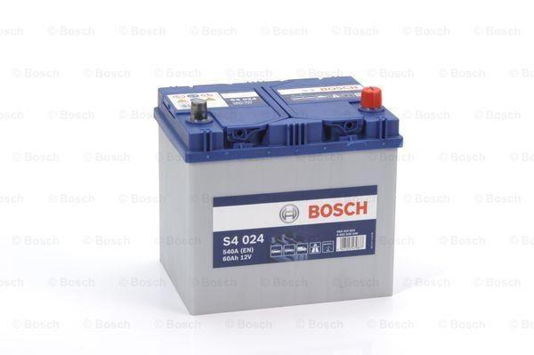 Батарея аккумуляторная Bosch S4 024 12В 60Ач 540A(EN) R+ Bosch 0 092 S40 240 - фото 15