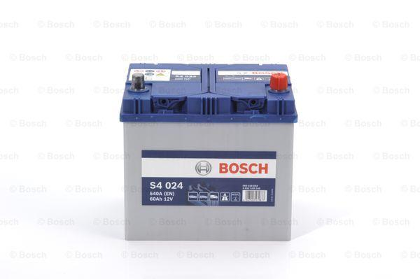 Батарея аккумуляторная Bosch S4 024 12В 60Ач 540A(EN) R+ Bosch 0 092 S40 240 - фото 14