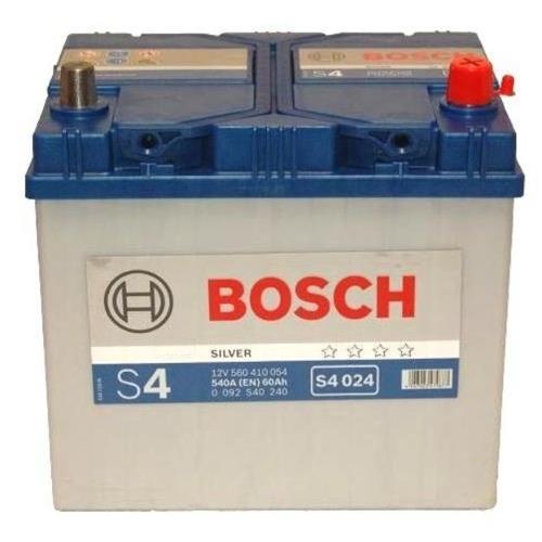 Батарея аккумуляторная Bosch S4 024 12В 60Ач 540A(EN) R+ Bosch 0 092 S40 240