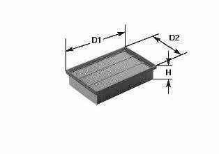 Фильтр воздушный Clean filters MA 169