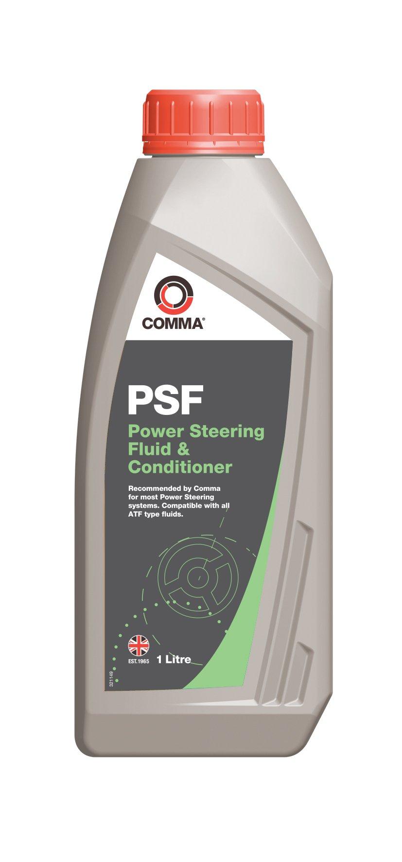 Масло гидравлическое Comma Power Steering Fluid, 1 л