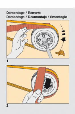 Монтажный инструмент, поликлиновой ремень