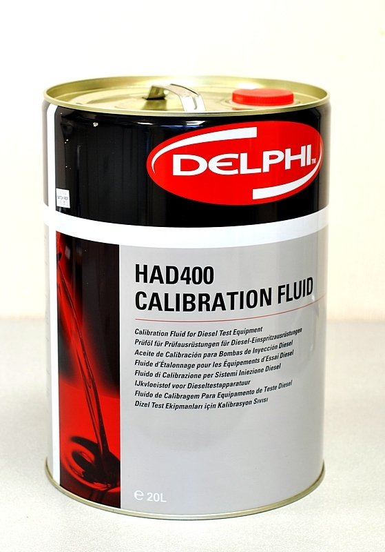 Калибровочная жидкость для дизельных систем Delphi HAD400, 20 л