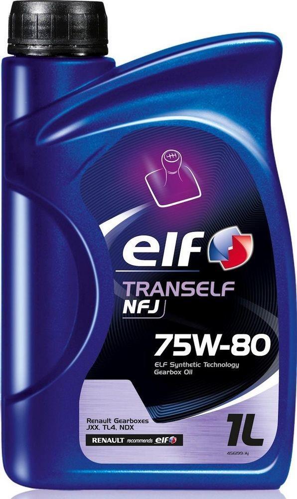 Масло трансмиссионное Elf TRANSELF NFJ 75W-80, 1 л Elf 194757