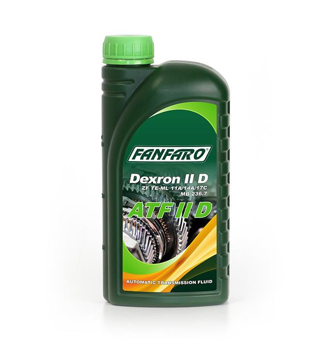 Масло трансмиссионное Fanfaro ATF II D, 1 л Fanfaro 535012